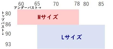 対応サイズ表