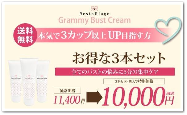 グラミーバストクリームの商品画像