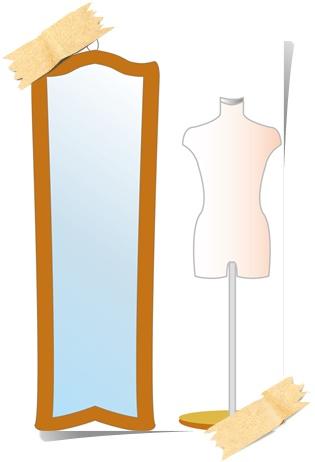 おおきめの鏡